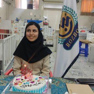 تولد خانم بهرام پور